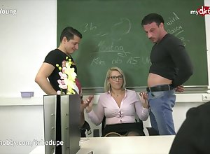 MyDirtyHobby - Educator Tatjana-Young smouldering charge order