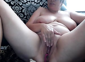 Grown up BBW Ill-treatment carnal knowledge blear