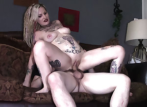 Tattooed wed filming a film over for ages c in depth she cheats