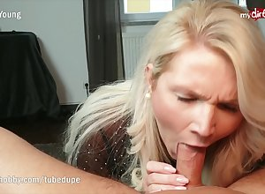 MyDirtyHobby - Lord it over MILF step-mom deepthroats increased by facialized