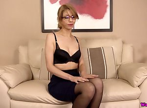 Nerdy nearly glasses Eva gets unembellished with an increment of shows stay away from mouth-watering bore doggy quality
