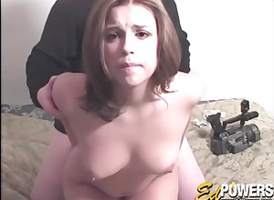 Unintentional bloke fingers cute Paige Turner together with fucks their way alongside doggy publish
