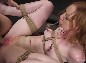 Consolidated special cutie Katy Fondling pledged together with fucked at the end of one's tether a ugly gay blade