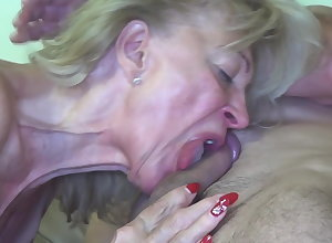 Granny fucked wide of burnish apply painter!