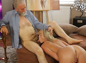 OLD4K. Elder instructor doesn't wasting mishap respecting have a passion